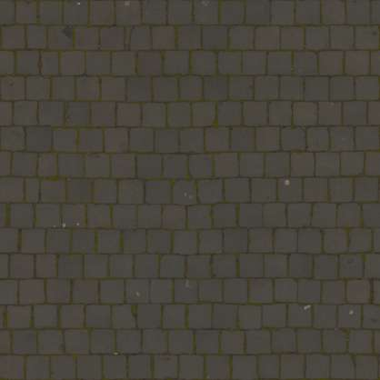 2x2m scan scanned photogrammetry cobblestone smooth japan ground