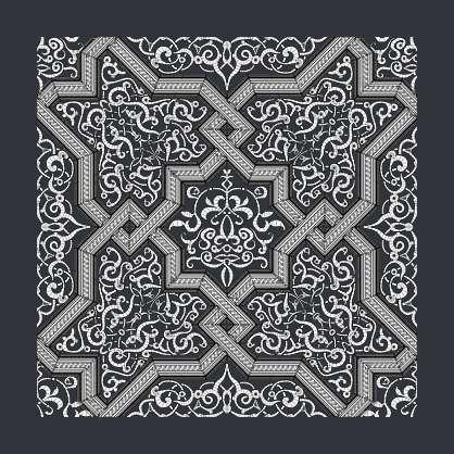3D Ornament Kitbash Set - Moorish 09
