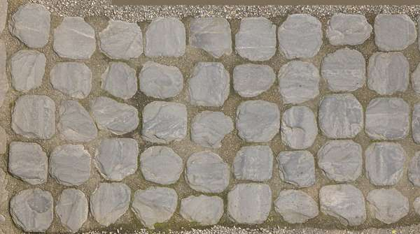 2x2m photogrammetry cobblestone pavement scan scanned japan displacement heightmap ground