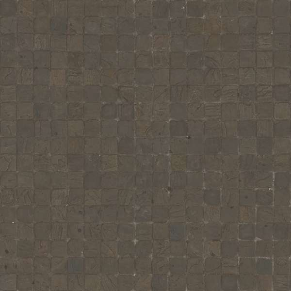 3d Scanned Square Cobblestone 2x2 Meters