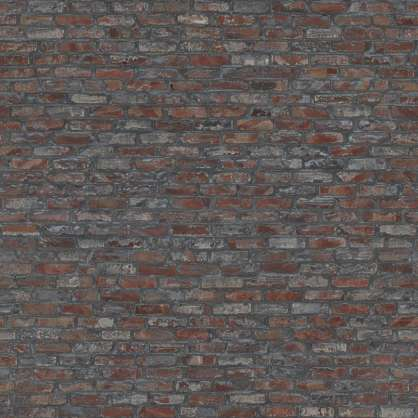 2x2m 2.5x2.5 srgb photogrammetry scanned scan brick bricks modern small displacement heightmap norway distorted wavy old