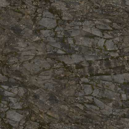 2x2m rock cliff scan scanned photogrammetry displacement depth jagged sharp mossy