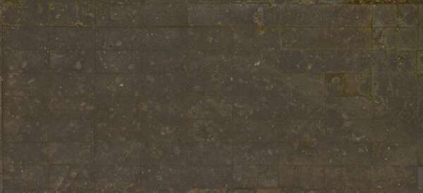 3.6x3.6m concrete plates old weathered japan mossy damaged