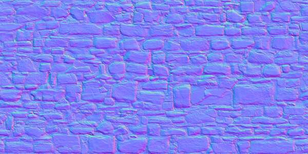 5x2.5m scan scanned worn out blocks cobblestone medieval netherlands wall mixed