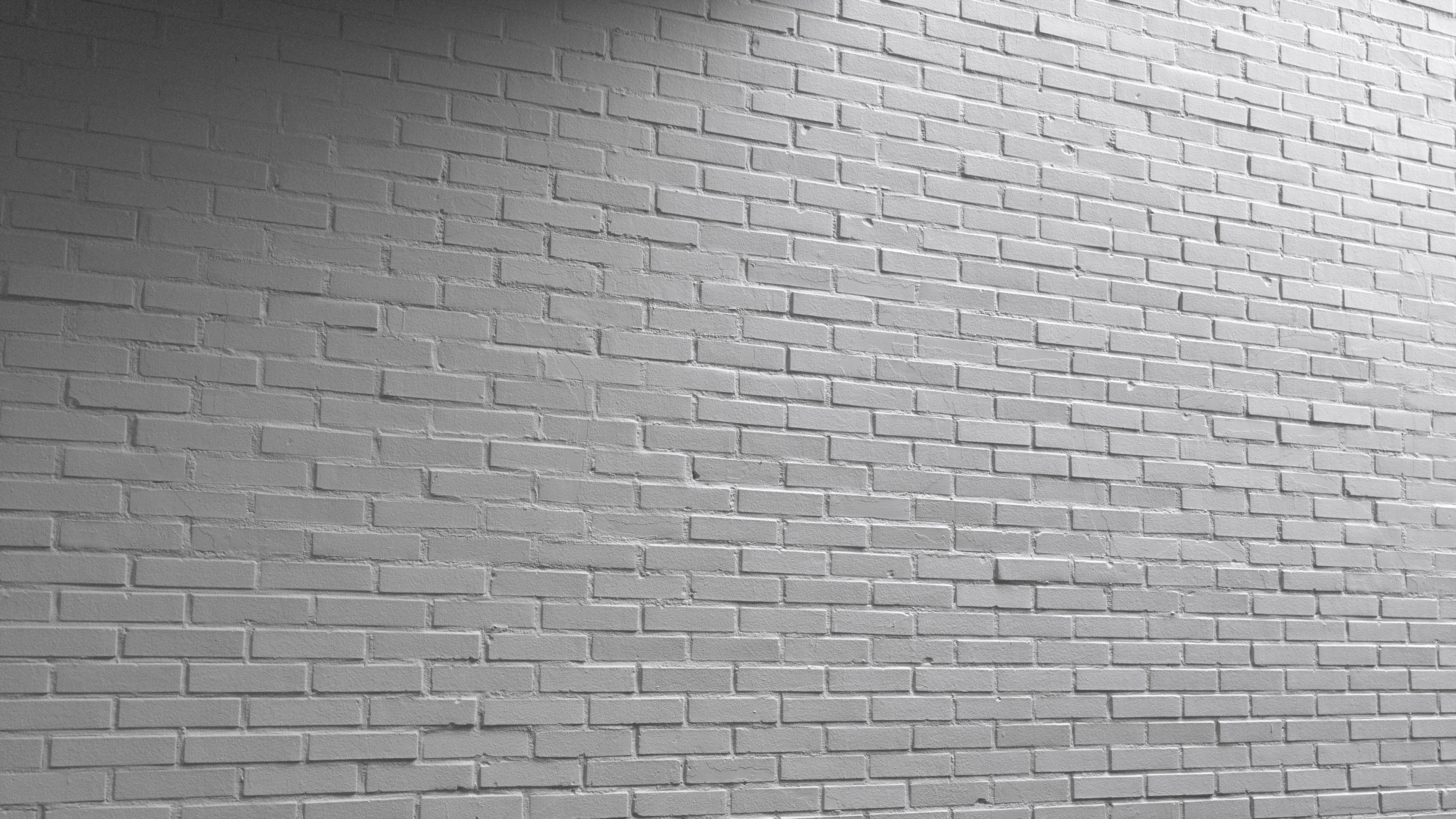 3d Scanned Painted Brick Wall 3x3 Meters