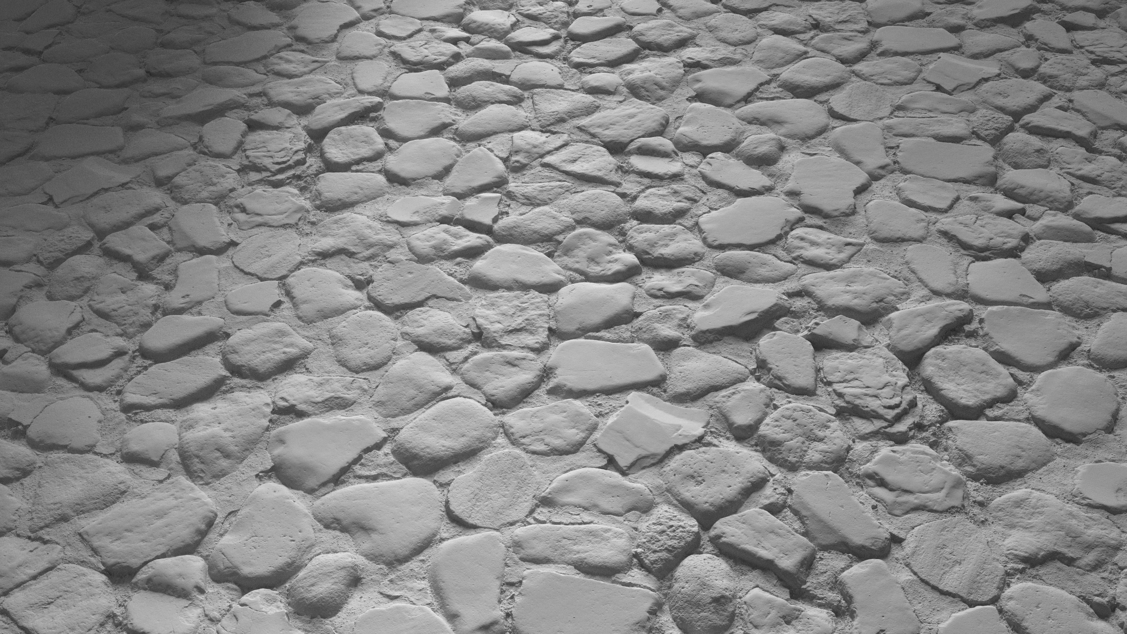 3d Scanned Cobblestone 3x3 Meters
