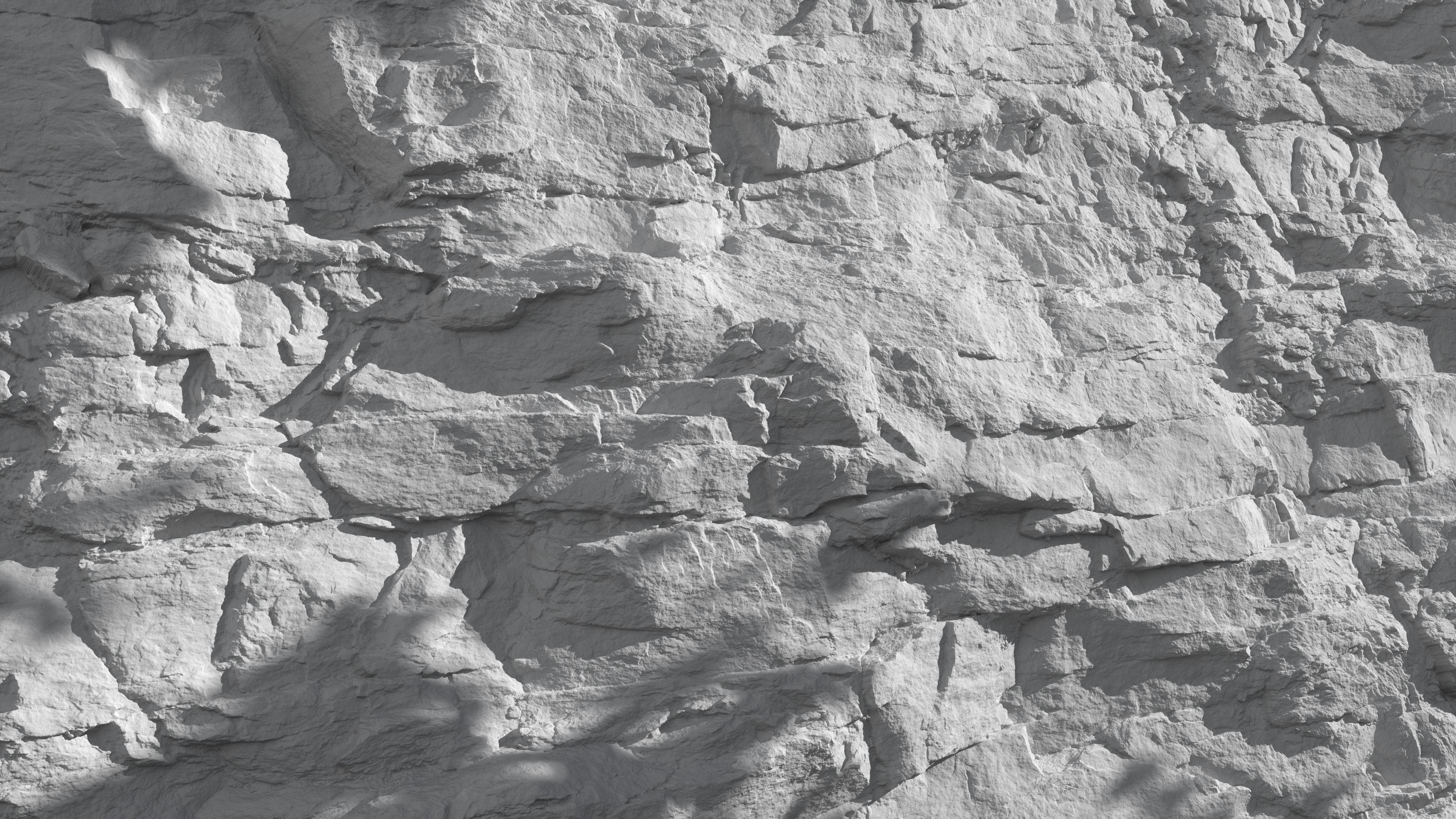3d Scanned Cliff Rock 2x2 2x4 Meters