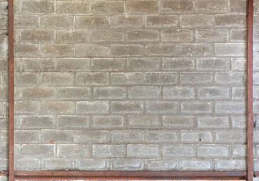 brick modern large bare reinforced