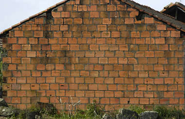 brick large modern orange