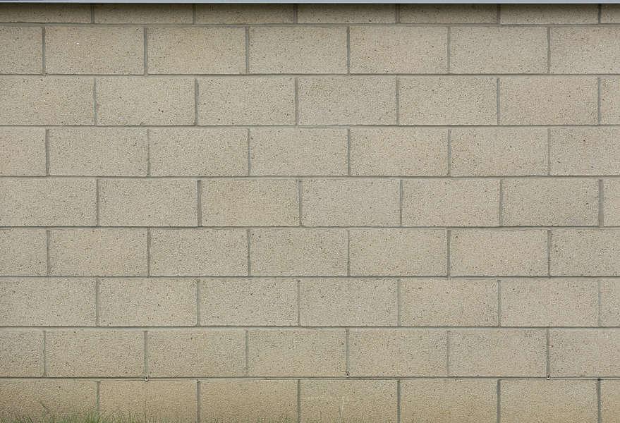 CinderblockClean0014 Free Background Texture brick bricks modern large bare UK beige