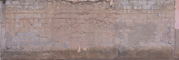 brick modern large dirty old plaster morocco