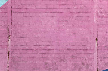 brick modern large paint painted pink