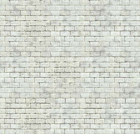 brick modern large paint painted bare