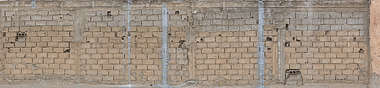 morocco brick modern large bare cinderblock damaged old worn dirty