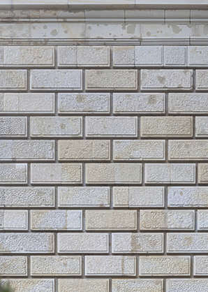 brick large sharp blocks