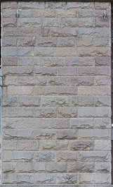 brick medieval sharp blocks facade UK