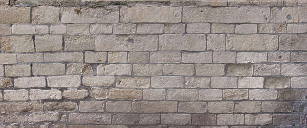 brick old large sharp blocks medieval