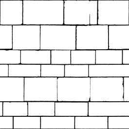 brick medieval blocks pattern sharp clean bare