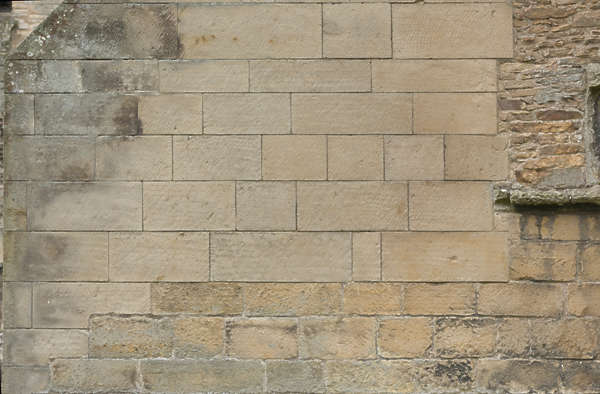 brick medieval lime limestone sharp UK