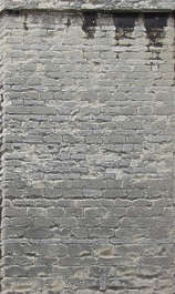 brick medieval rounded weathered worn old