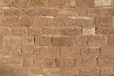 brick medieval rounded smooth