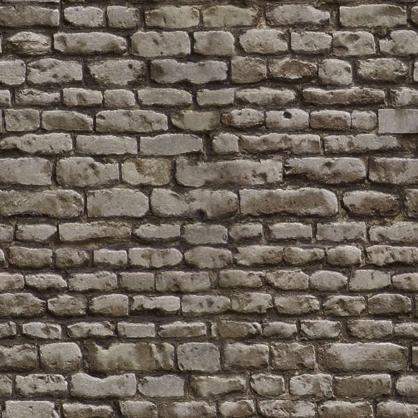BrickOldRounded0027 - Free Background Texture - brick ...