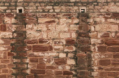 india brick mixed size medieval old