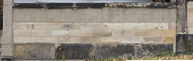 limestone stone dirty brick large block
