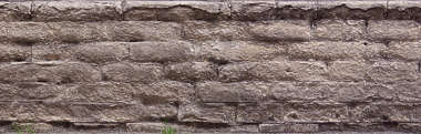 brick medieval rounded worn weathered old