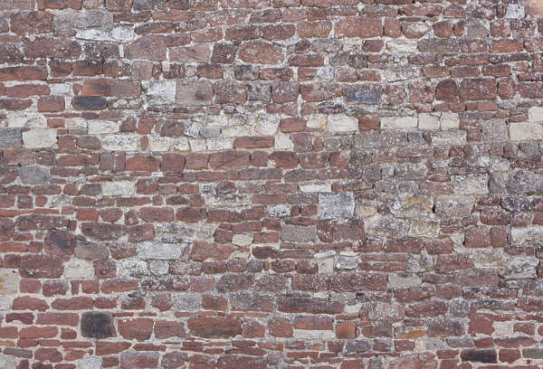 brick medieval messy mixed bare