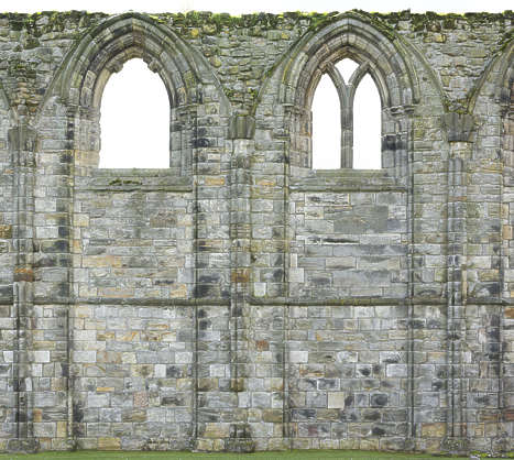 brick medieval building facade arches castle church cathedral windows UK