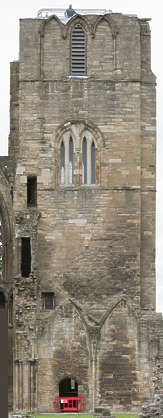 brick medieval building facade tower cathedral UK