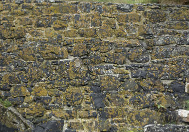medieval brick mossy UK mixed size
