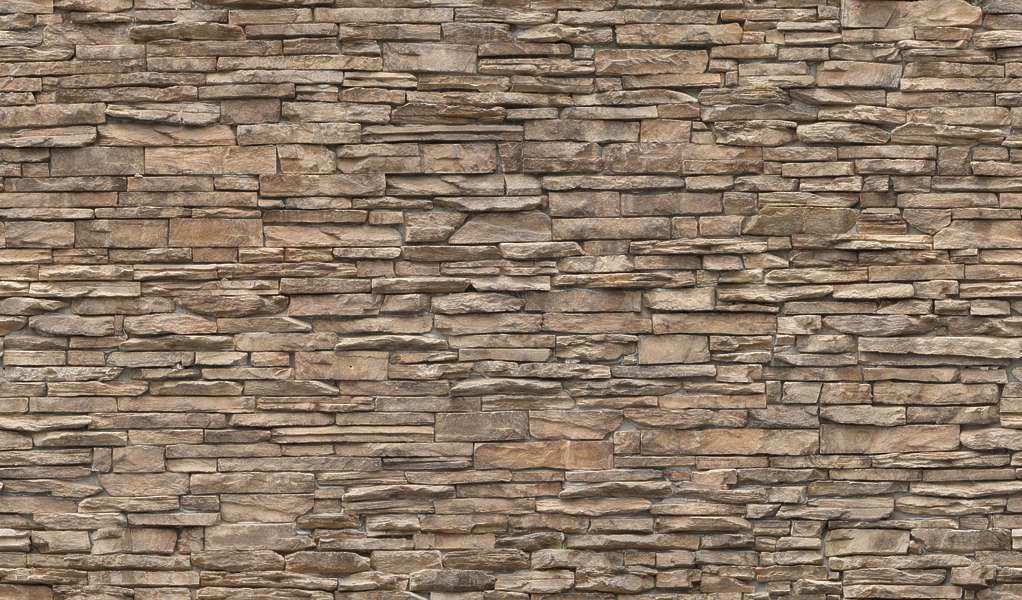 Stone And Wood Wall Cladding