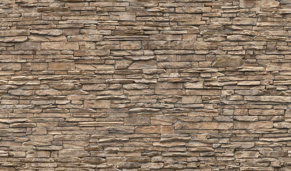 brick groutless medieval old wall mixed size
