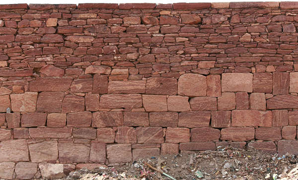 india brick groutless medieval old