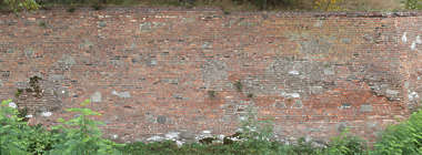 brick small plaster damaged repaired