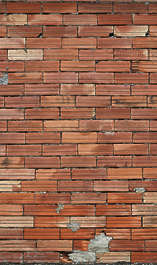 brick modern small brown