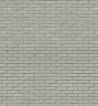brick modern small white clean
