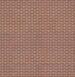 brick small brown clean