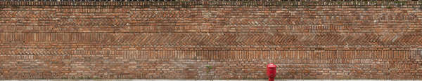 venice italy brick modern weathered old pattern