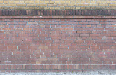 brick small modern trim border