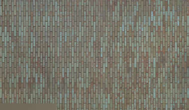 brick green small modern vertical