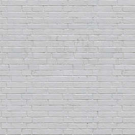 brick modern small white painted