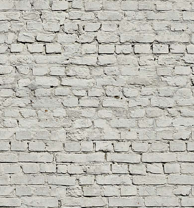 brick small painted white paint