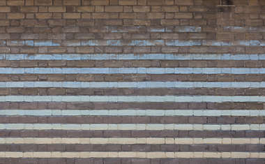 brick small modern painted