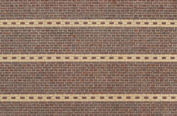 brick bricks bare ornate border small pattern