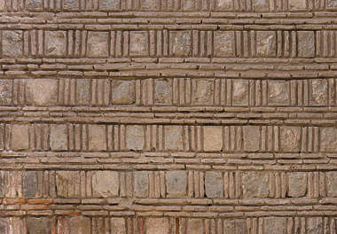 brick small morocco ornate pattern