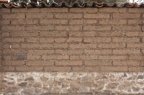 brick small old clay