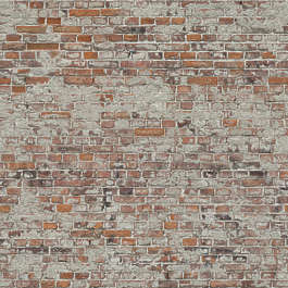 wall brick modern plastered weathered old